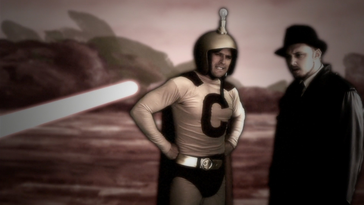 Hero image for Captain Amazingly Incredible and the Space Vampires from the Evil Planet