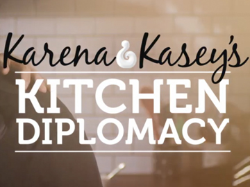 Image for Karena and Kasey's Kitchen Diplomacy