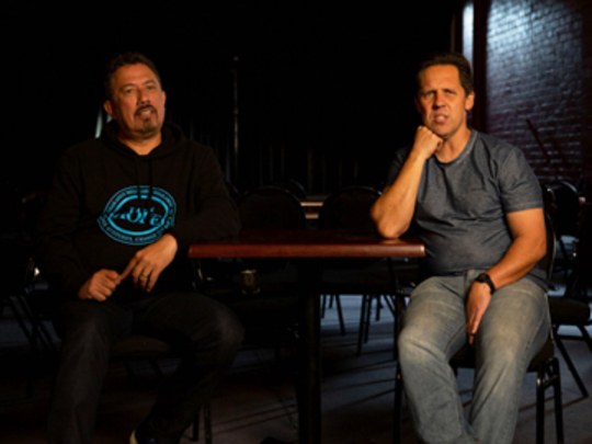 Image for Mike King & Andrew Clay - Funny As Interview