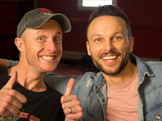 Image for Jono Pryor & Ben Boyce - Funny As Interview