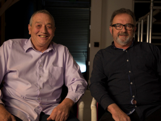 Thumbnail image for Rick Harris and Peter Rowley on Billy T James - Funny As Interview