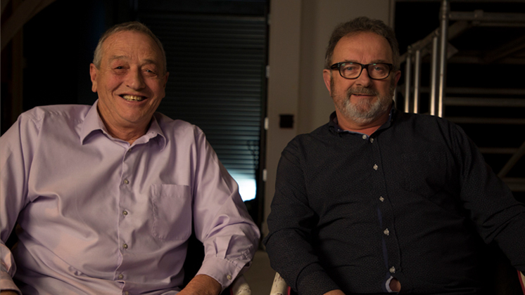 Hero image for Rick Harris and Peter Rowley on Billy T James - Funny As Interview