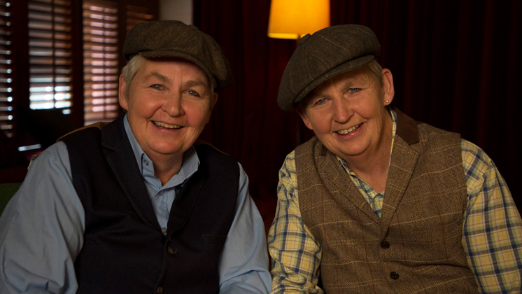 Hero image for The Topp Twins - Funny As Interview